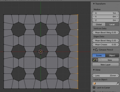 Корректировка сторон кубика под удобный размер