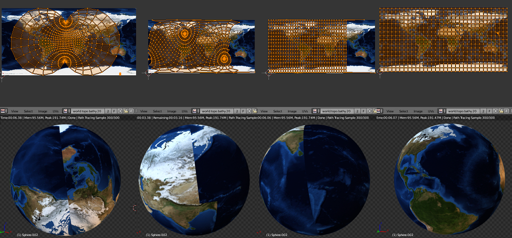 Mapping Texture To Planet Blender Interplanety