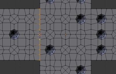 Установка точки поворота сторон кубика