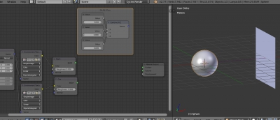 Setting lighting position in nodes tree