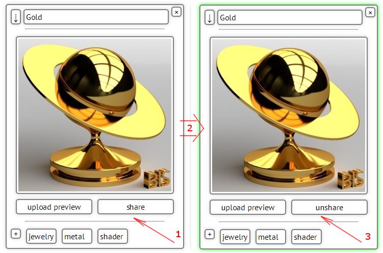 BIS – Online Blender material storage – Blender – Interplanety