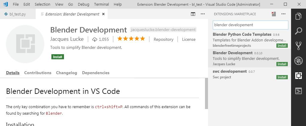 Using Microsoft Visual Studio Code as external IDE for